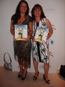 Joann and I at Carla and Leo's World of Dance Book Launch Party
